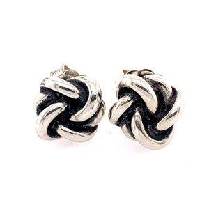 Pre💛 James Avery Knot Earrings